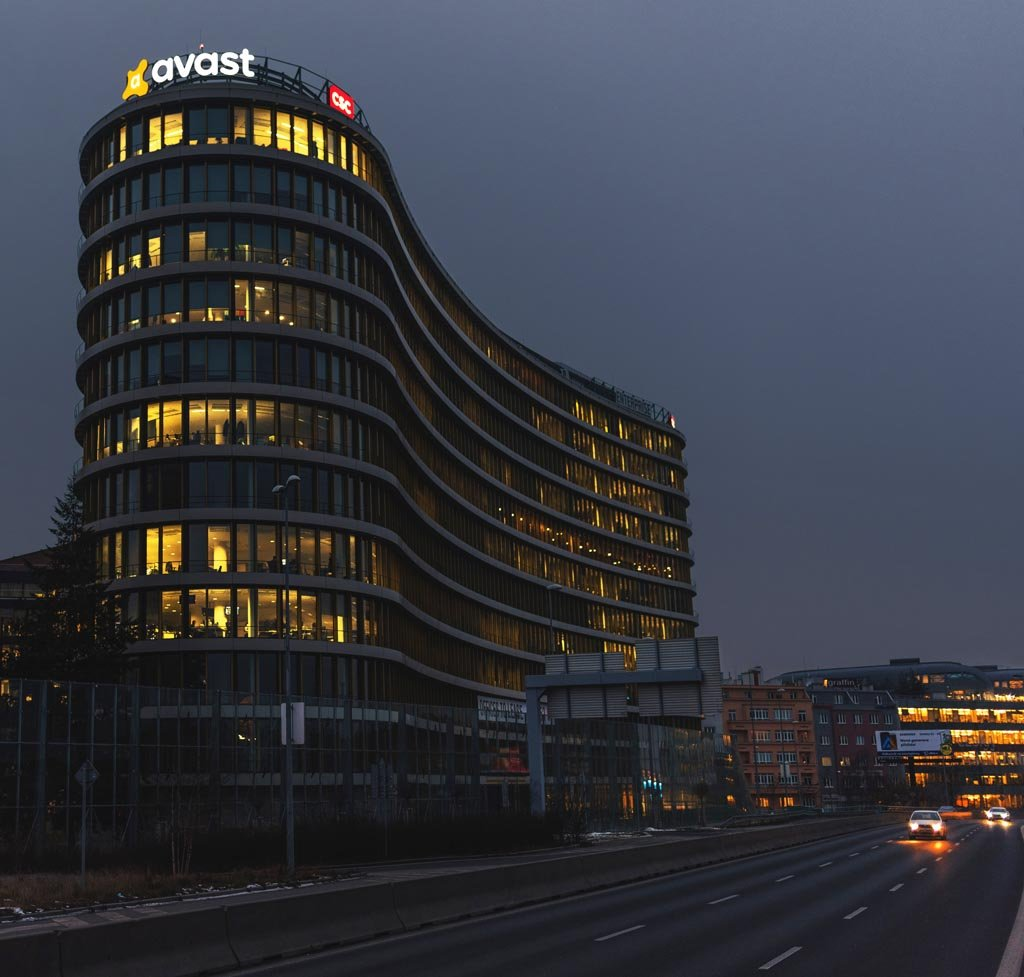 Avast Headquarters in Prague, Czech Republic