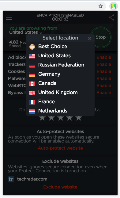 Touch VPN Free VPN 2019 for Chrome — Review & Test | VPN Den